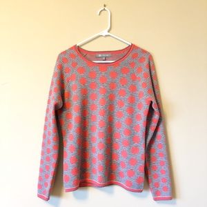 Title Nine   Cozy polka dot pullover sweater